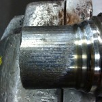 universal, joint, spalling