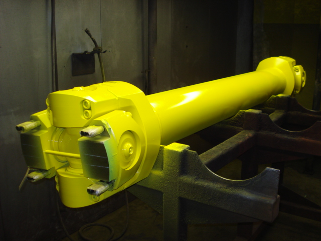 yellow, custom, industrial, shaft