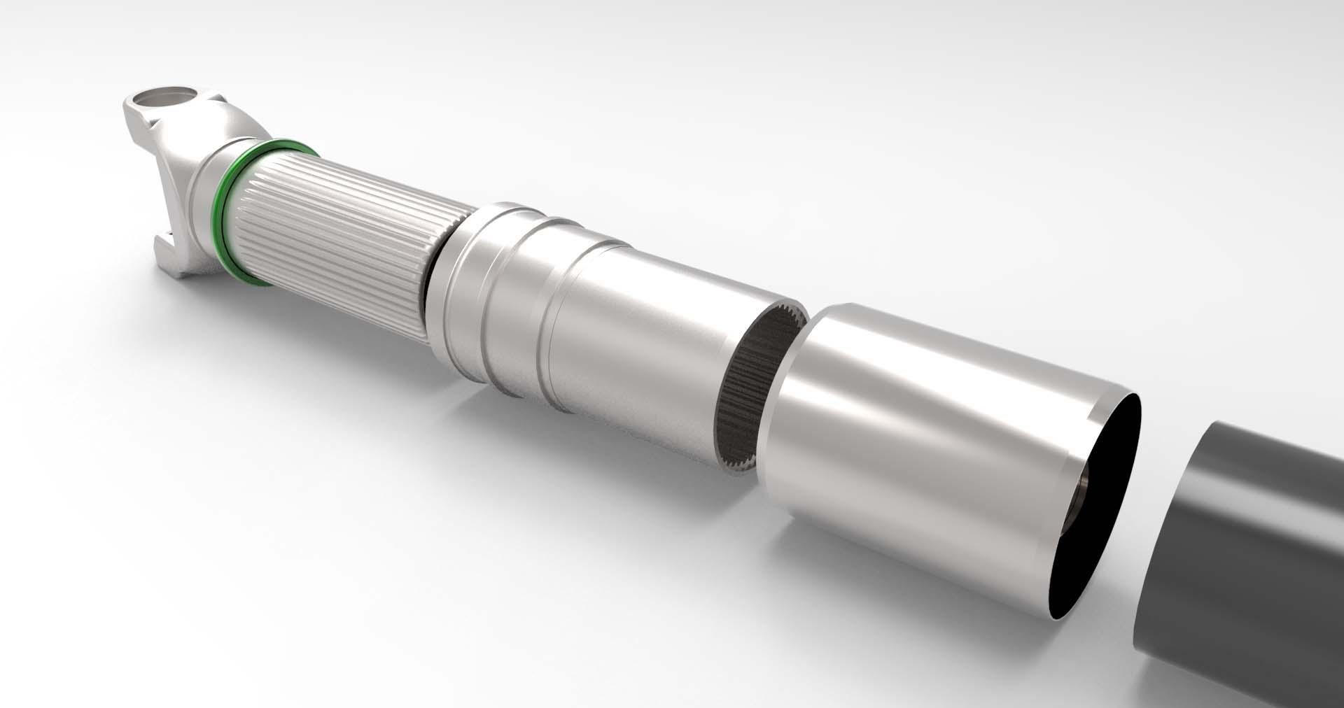 shaft, model, 3d, rendering