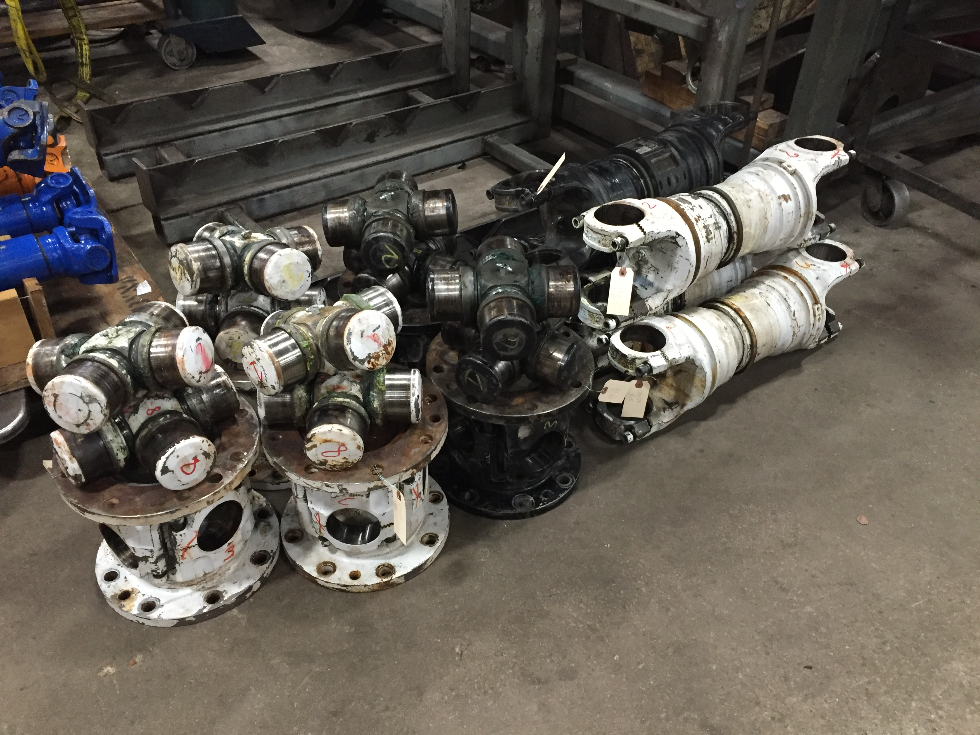 disassembled, hydraulic, fracturing, shafts